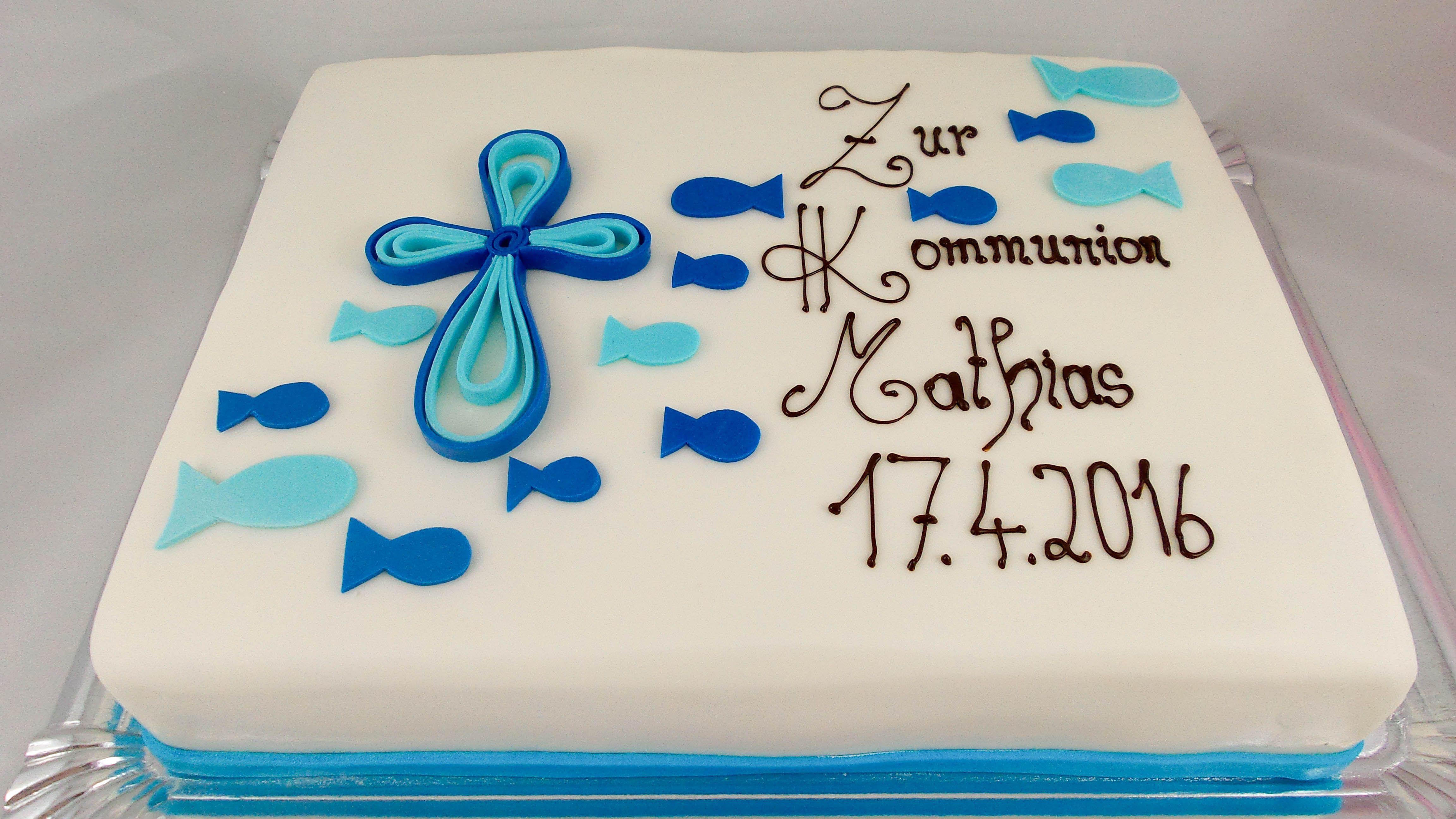 Tauftorte Junge  Kommunion in 2019  Kommunion torte
