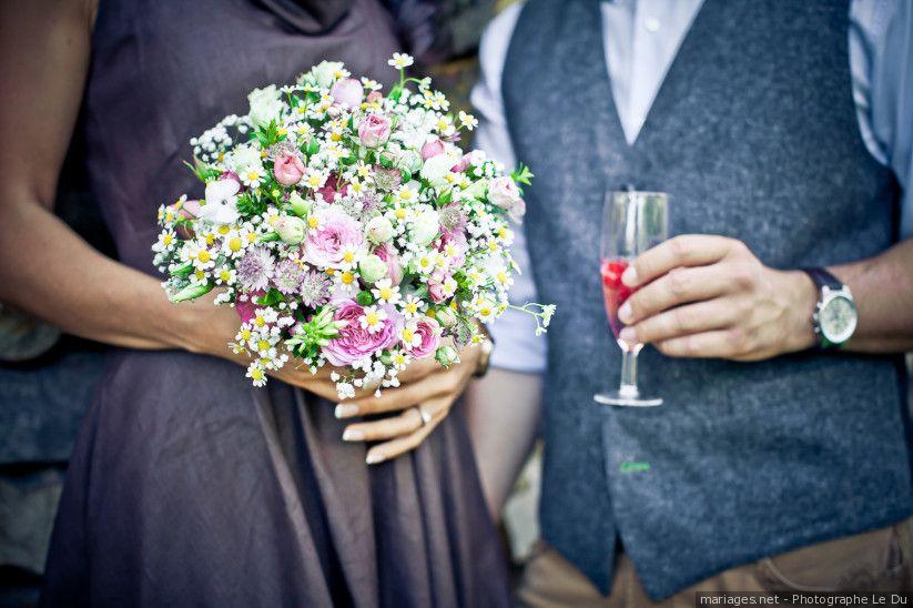 Variétés de fleurs pour un bouquet de mariée 100% champêtre