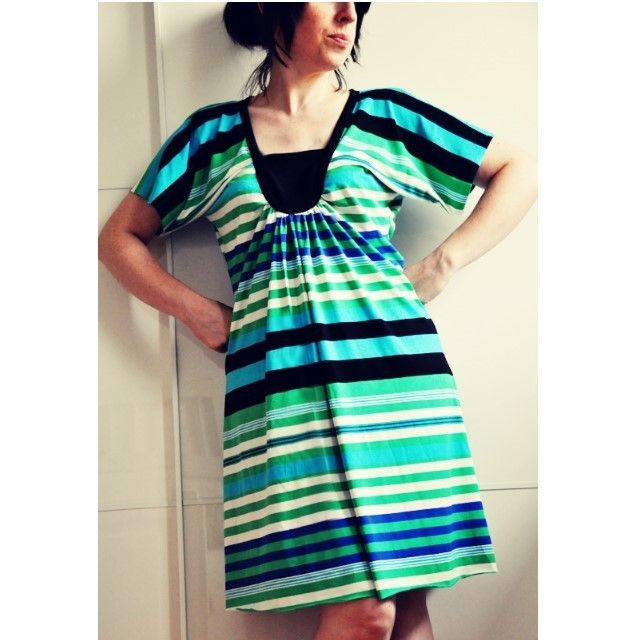 Tara top or tunic pattern, with sleeve and length variations