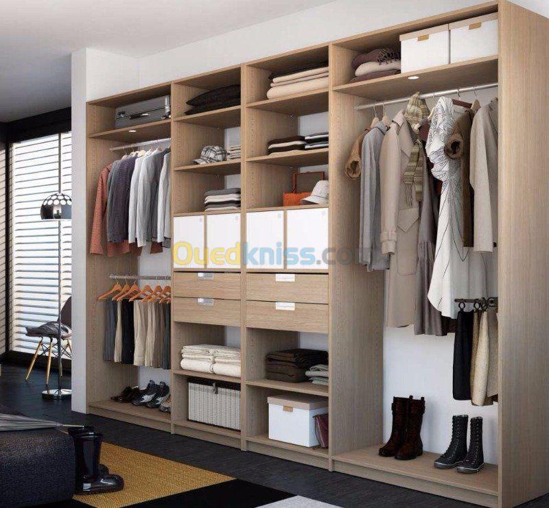Cuisine Et Dressing Alger Baba Hassen Algerie Dressing Room Closet Custom Furniture Home
