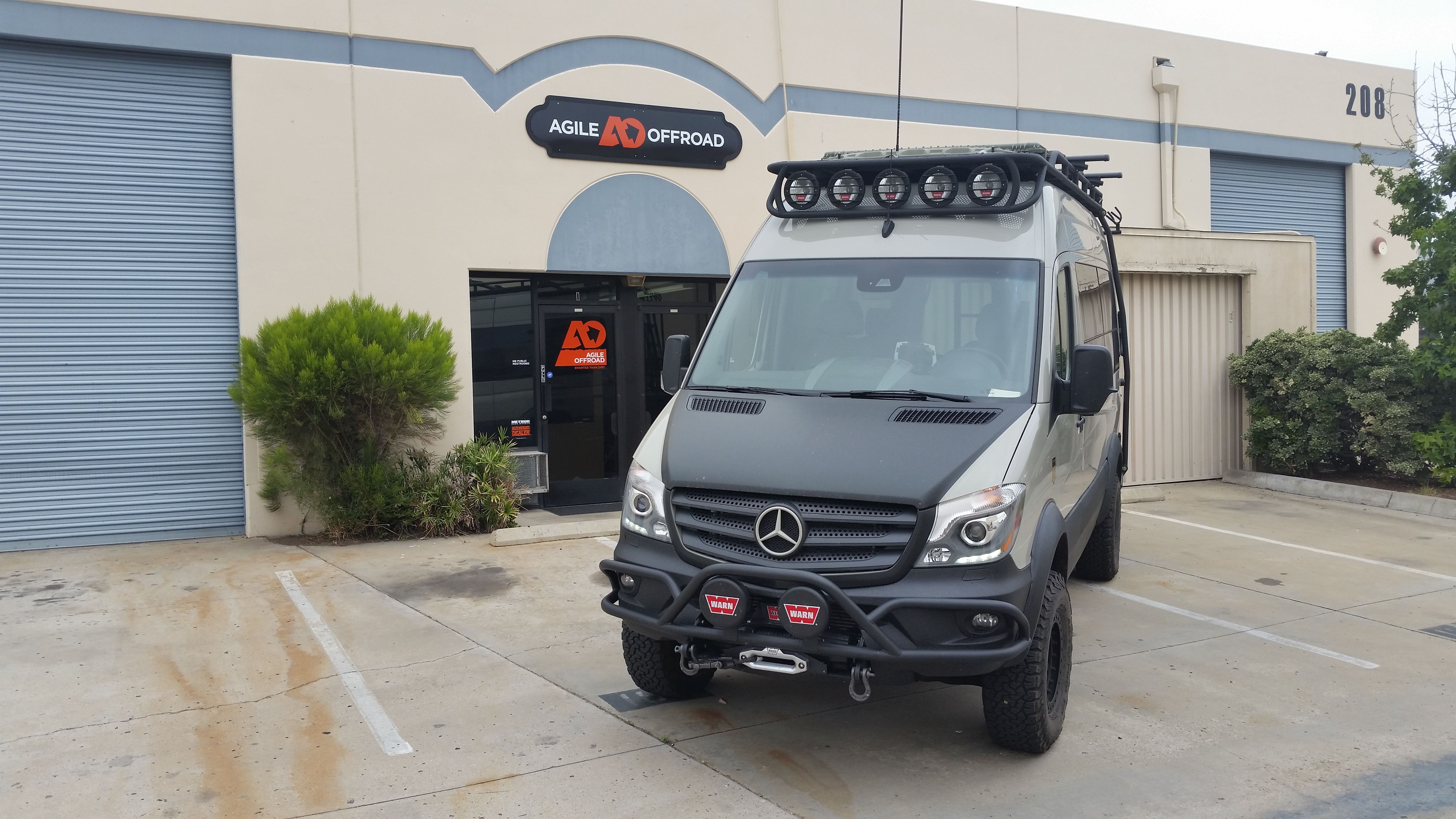drive vaude more pin driveaway amdro van mercedes awnings conversions sprinter alternative camper rear awning
