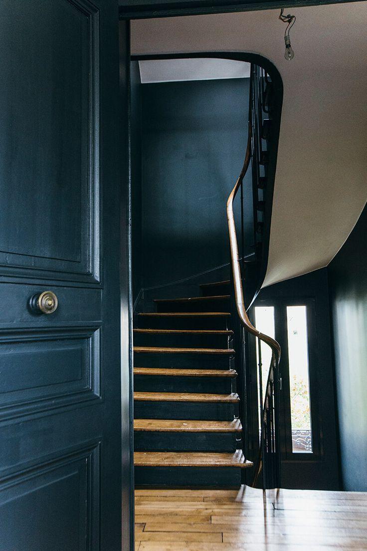 Avec Quoi Recouvrir Un Escalier En Carrelage nuances de bleu & style industriel   nuances de bleu