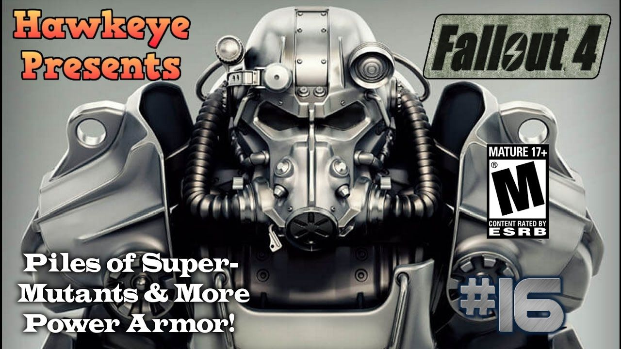 Fallout 4 - Episode #16: Piles of Super-Mutants & More Power Armor!