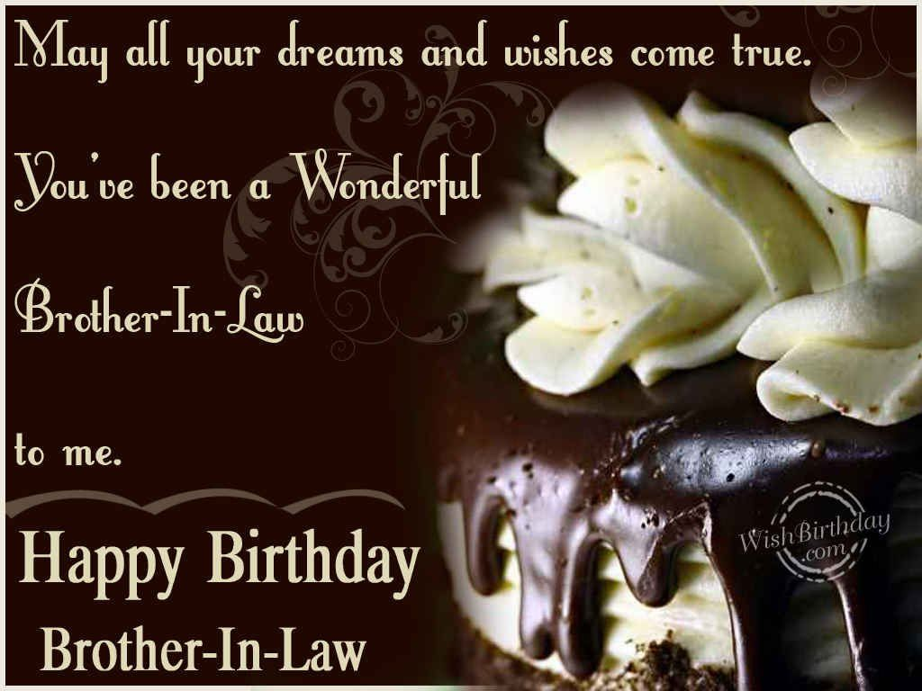 Birthday Wishes Quotes For Brother ~ Birthday wishes for brother in law images pictures birthdays pinterest