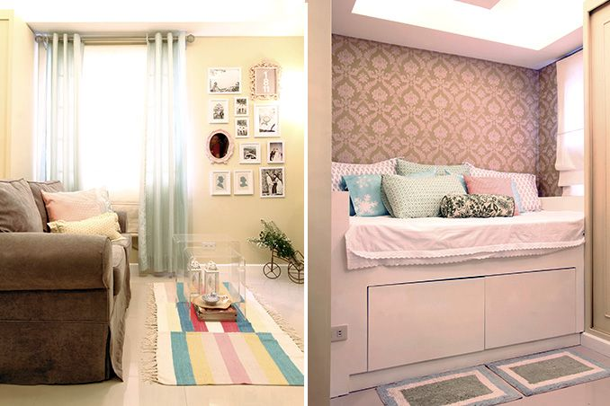 A Cozy And Compact 25sqm Condo For A Newlywed Couple Condo