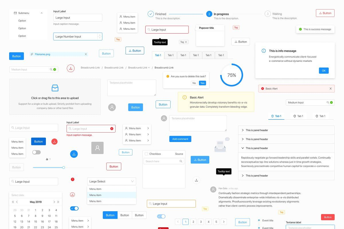 Pin On Ui Kits And Libraries Templates