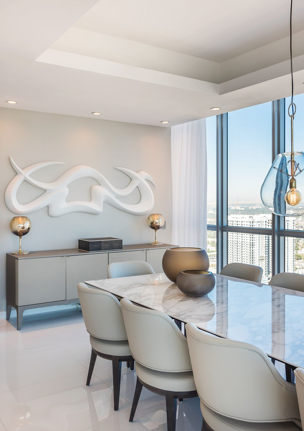 Sky High Style Custom Dining Tables Marble Tables Living Room