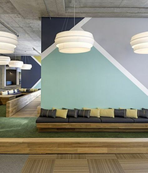 nos astuces en photos pour peindre une pi ce en deux couleurs decoracion wall paint colors. Black Bedroom Furniture Sets. Home Design Ideas