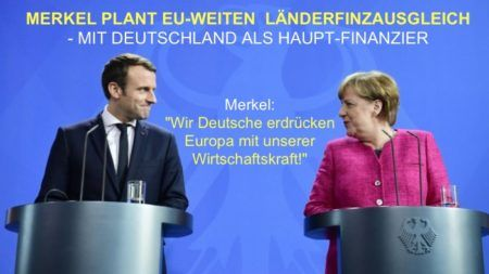 """. Merkel plant einen EU-weiten """"Länderfinanzausgleich"""" – in welchem allein Deutschland zahlt und der Rest der EU davon profitieren wird Sozialistischer geht`s nicht: Ungleichheit …"""