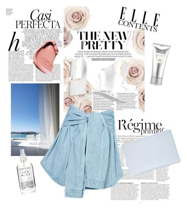 """""""Sea"""" by kristynaaxoxo on Polyvore featuring Whiteley, Anja, Folio, Whistles, H&M, Laura Mercier and Herbivore"""