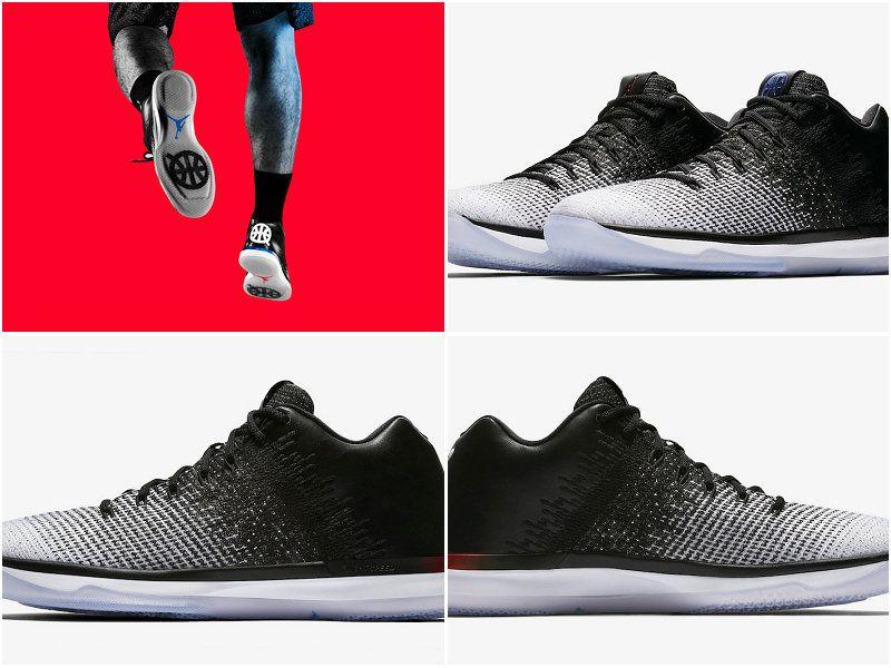 new product 7af83 622a0 Air Jordan 31 Low Quai 54 White Black University Red 921195 ...