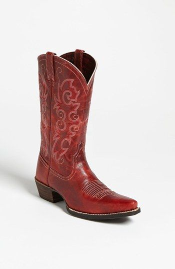 1000  images about I want red cowboy boots please! on Pinterest