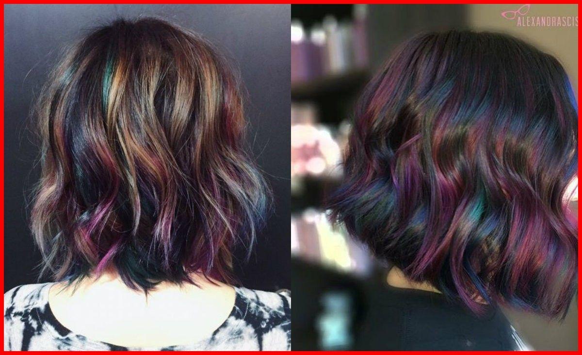 Image result for oil slick hair color hair goals in