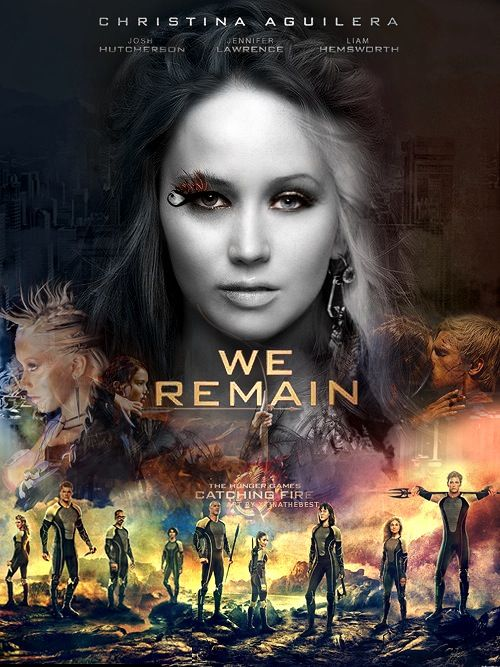 Hunger Games Love This I Wonder What The Movie Poster For