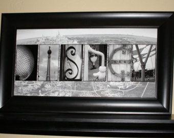 Disney with walt disney world map alphabet photography letter art disney with walt disney world map alphabet photography letter art print ready gumiabroncs Images