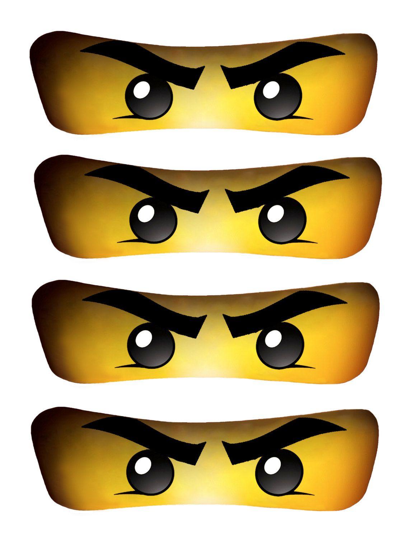 Universal image with ninjago eyes printable