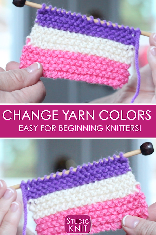Photo of How to Change Yarn Colors While Knitting