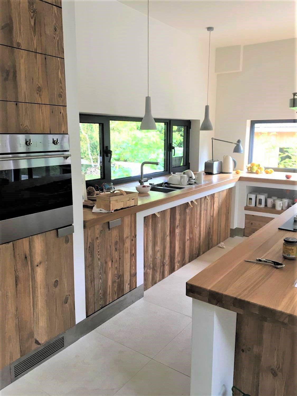 Inspiracja Stare Deski W Kuchni Home Decor Furniture Home