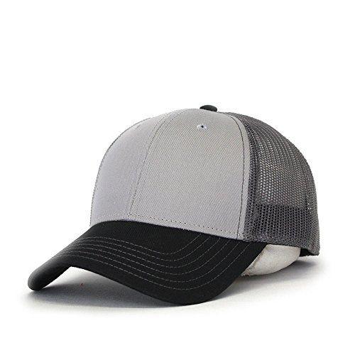 df021e407818a AMAZON  7.99 Vintage Year Two Tone Cotton Twill Mesh Adjustable Trucker Baseball  Cap