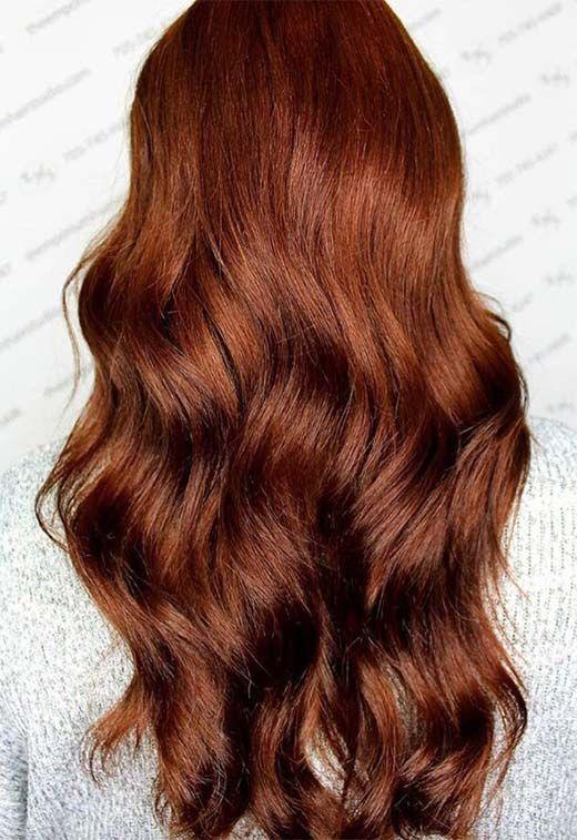 55 Auburn hair shades to burn for: Auburn Hair Dye Tips #auburn #brennen …