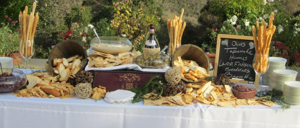 Classic catering olive tapenade display catering ideas for Food bar catering