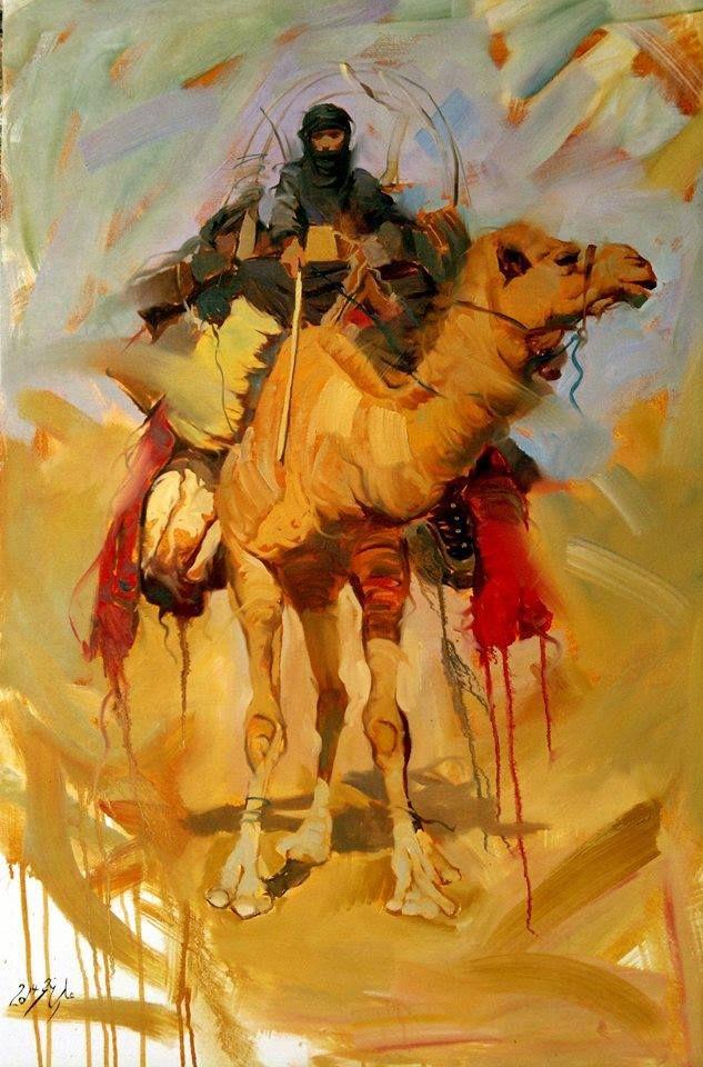 للفنان العراقي علي نعمه Painting Egyptian Art