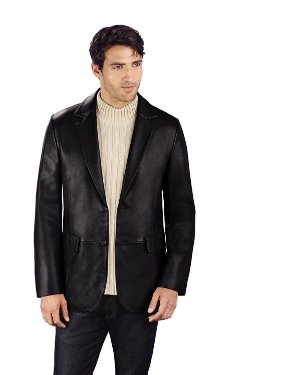 7d44c2ca036b Today is a Weekend...... Buy Mens Leather Blazers.....leathernxg.com ...