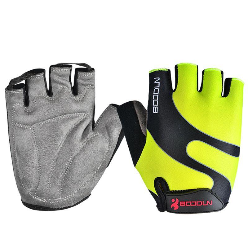 1 Pair Kids Boys Girls Cycling Gloves Half Finger Children Outdoor Bike Glove