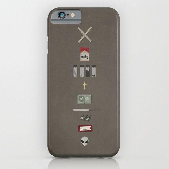 X-Files+iPhone+&+iPod+Case+by+Justin+Cybulski+-+$35.00
