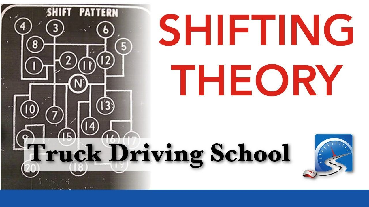 How To Shift A 9 10 13 15 Or 18 Speed Transmission Truck Driving Sc Transmission Driving School Driving