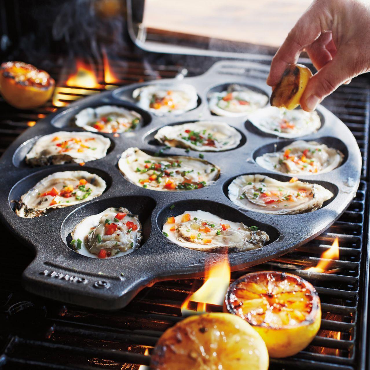 Sur La Table® Cast Iron Oyster Pan | Sur La Table
