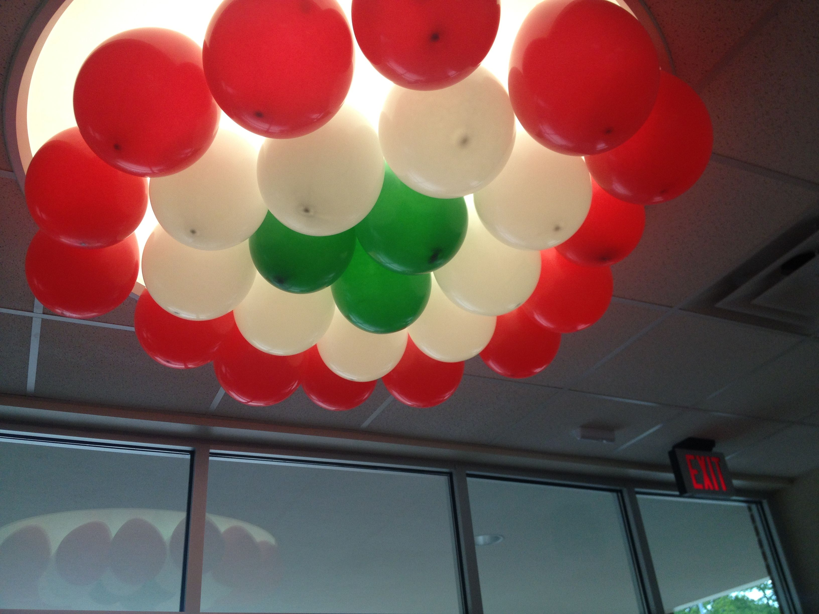 Decoraci n con globos Noche Mexicana Pinterest
