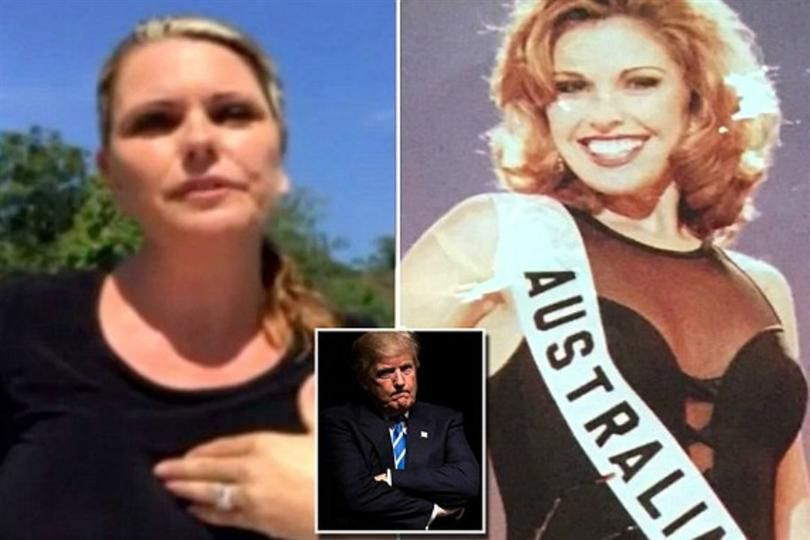 Former Miss Universe contestant says Donad Trump body shamed her