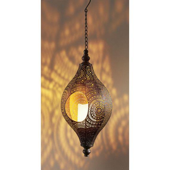 Solarleuchte Agadir, mit LED Kerze, orientalischer Look Firmen - solarleuchten garten antik