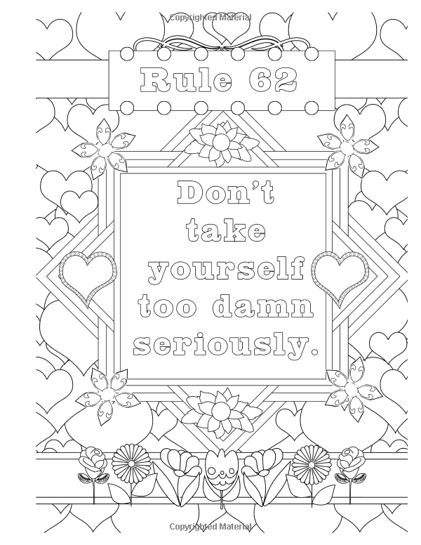 Amazon.com: Sobriety Garden Coloring Book #2: An adult ...