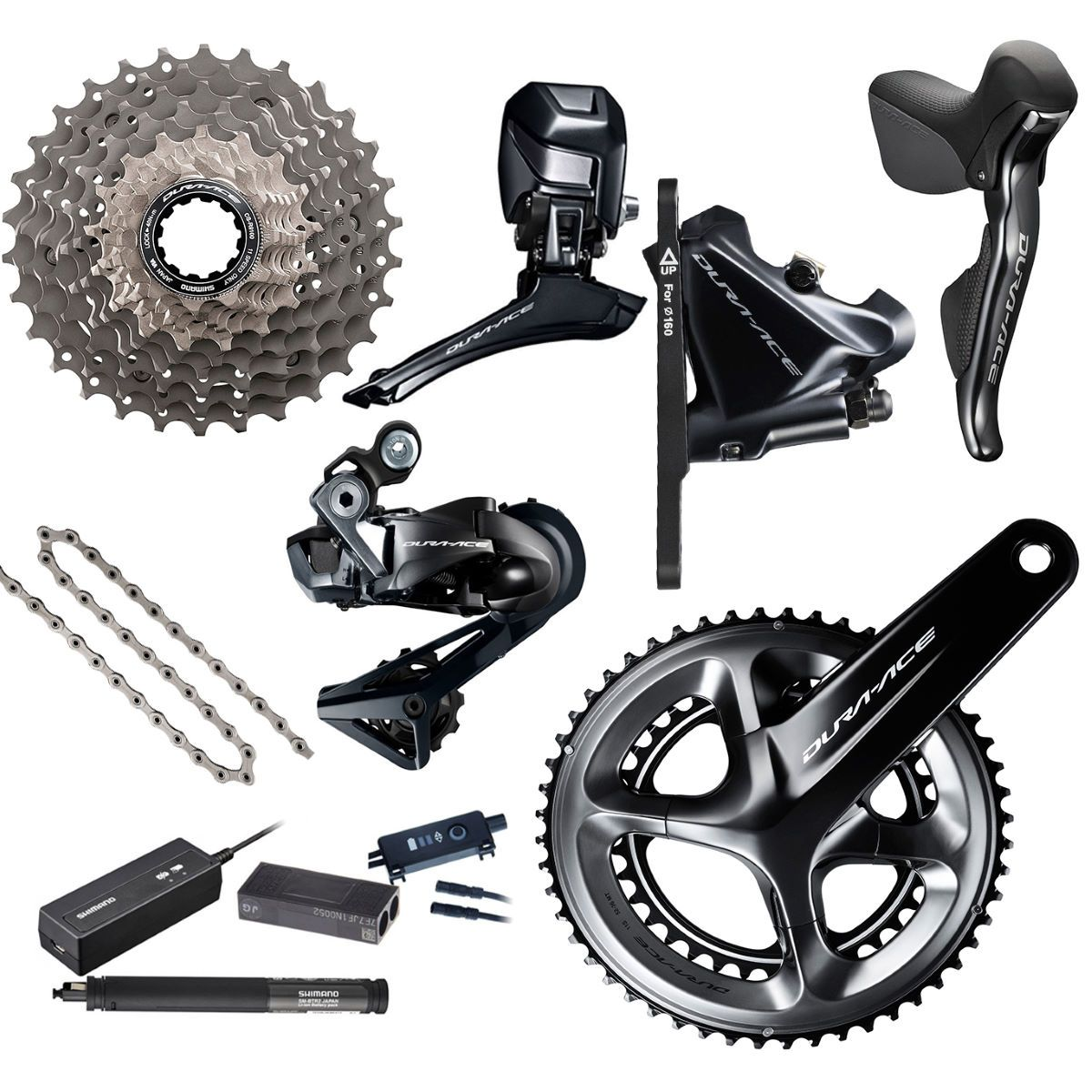 Shimano Dura Ace R9170 Di2 Groupset Groupsets Build Kits