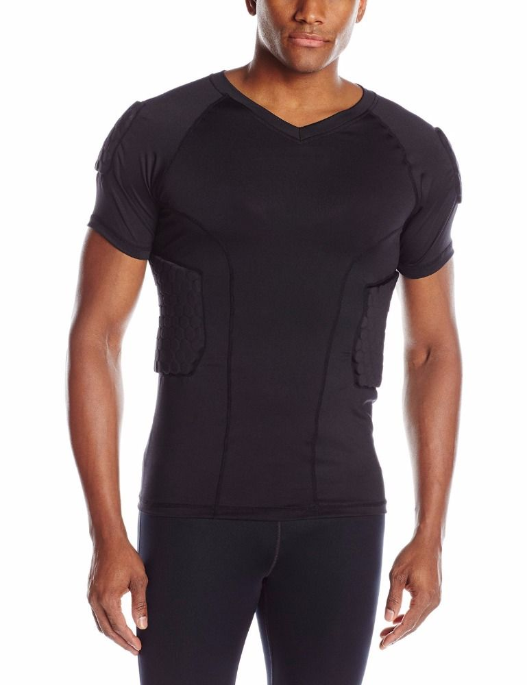 c7f91e025 Rugby Football Wear Padded Compression Protective Clothing shirt/jersey  #rugby_clothing, #Sports