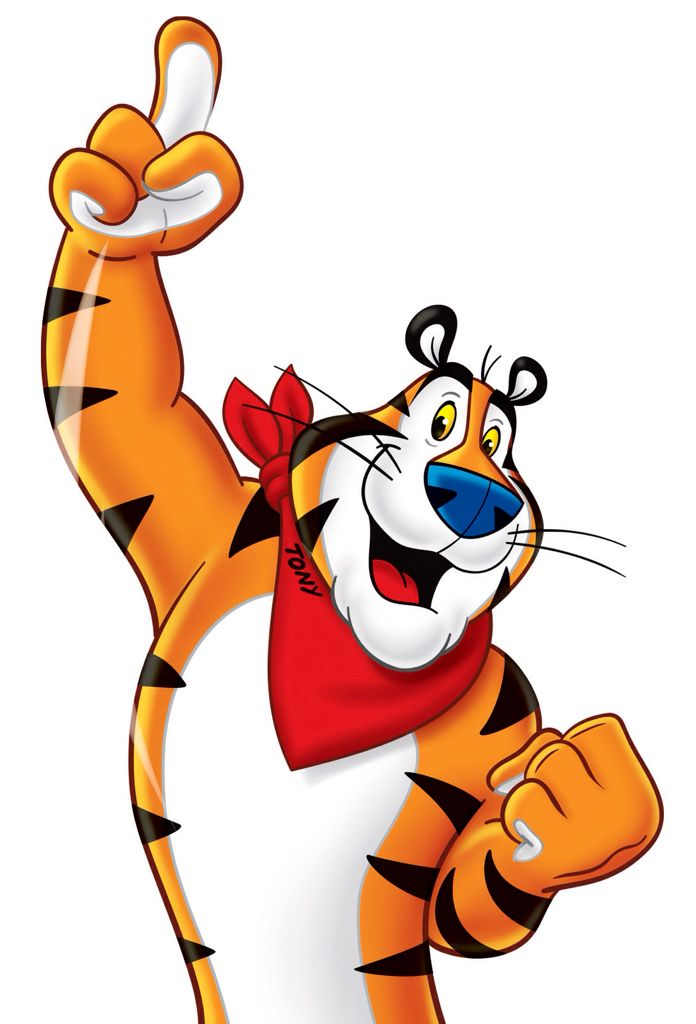 Tony The Tiger Tiger Painting Tiger Art Cereal Characters