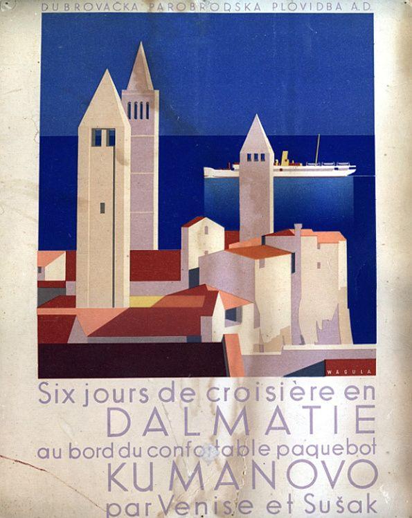 Yugoslavia, Dalmatian Coast, 1936-37. Artist: Hanns Wagula (1894 ...