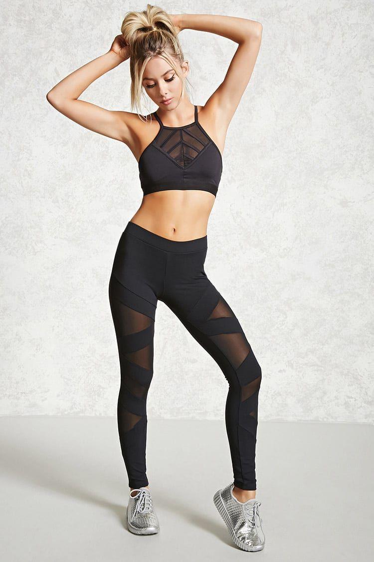 6d3d029080 Legging semi-transparent - Sport