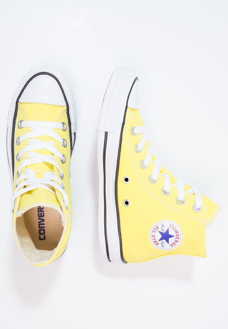 Converse CHUCK TAYLOR ALL STAR - Høye joggesko - fresh yellow - Zalando.no