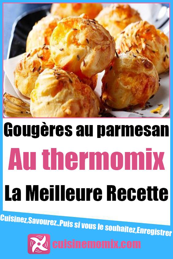 Gougères au parmesan au Thermomix