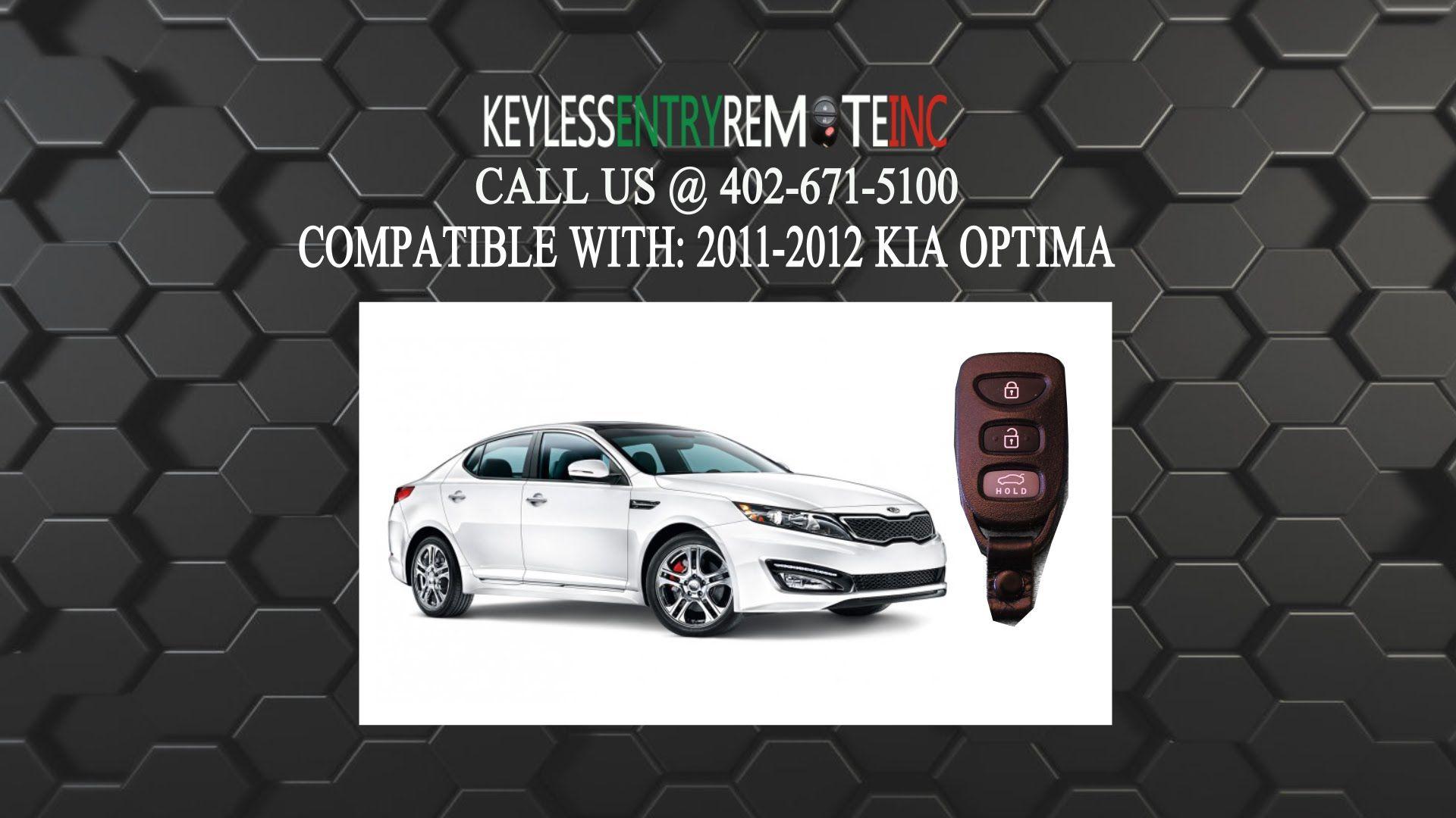 How To Replace A Kia Optima Key Fob Battery 2010 2013