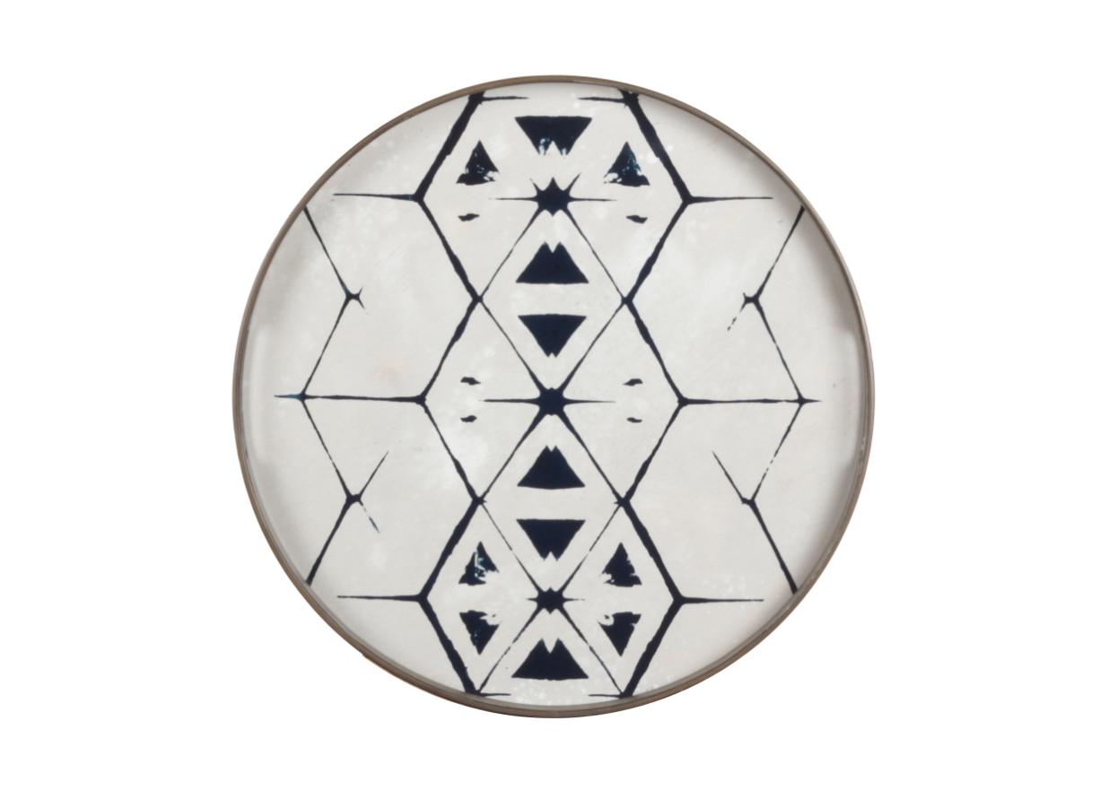 Tribal Hex by Notre Monde / #tribal #design #tray www.notremonde.com