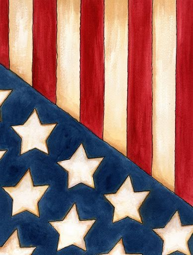 Easy 4th Of July Canvas Paintings