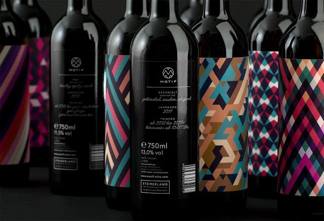 Motif Wine on Packaging of the World - Creative Package Design Gallery