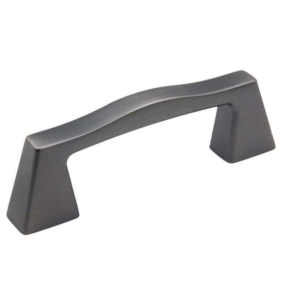 Gentil Allen + Roth 3 In Center To Center Black Satin Bar Cabinet Pull