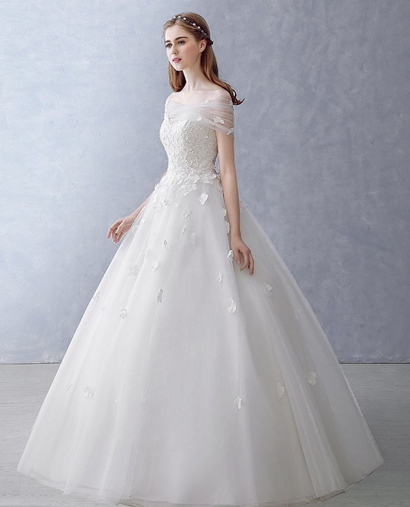 How much are wedding dresses  New Lace Wedding Dress any size custom made Bohemian bead Bridal