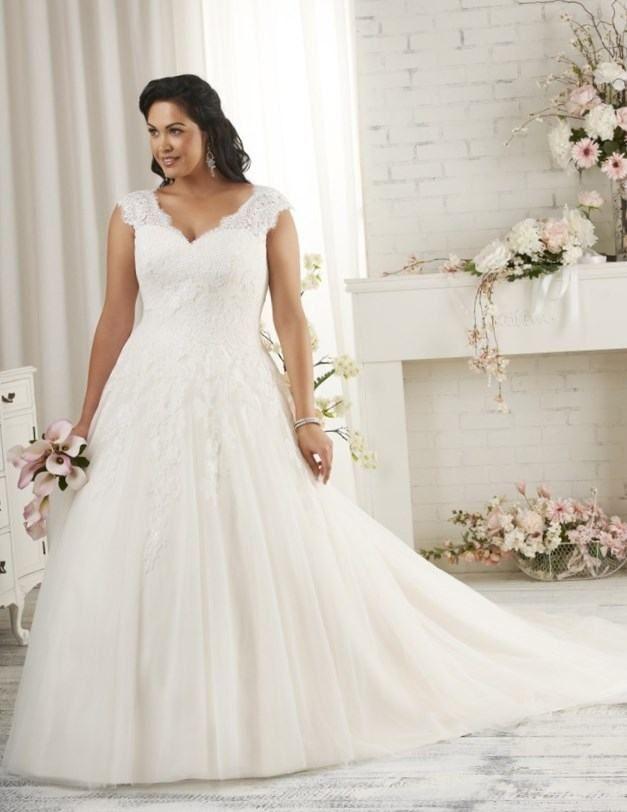 Best wedding dress style for plus size - http://fashion-wedding ...