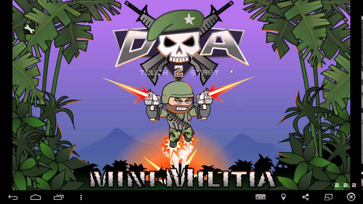 Download Mini Militia Pro Pack Mod Apk With Unlimited Ammo Health